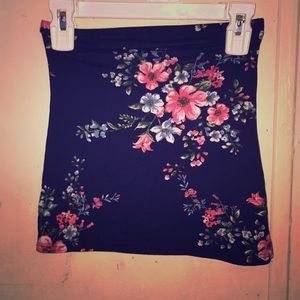 Rue 21 flower tube top